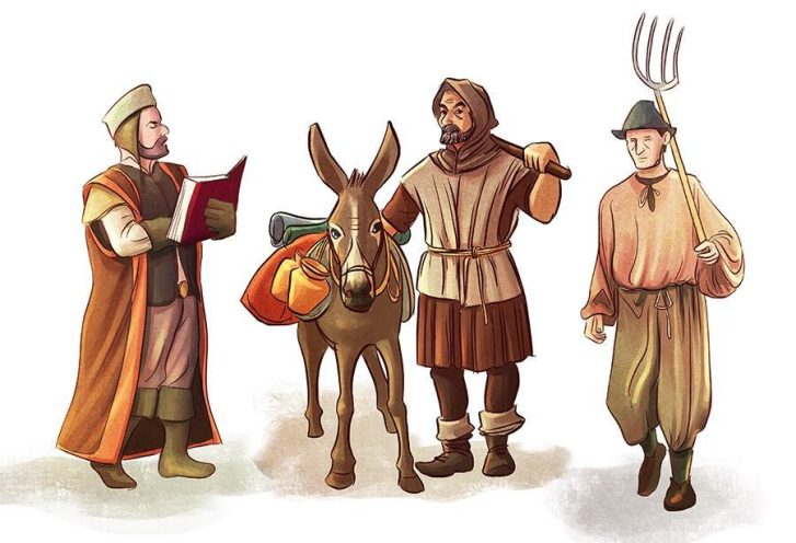 Medieval Occupations Game