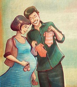 A nossa gravidez