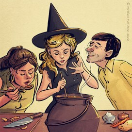 Não me chamem bruxa