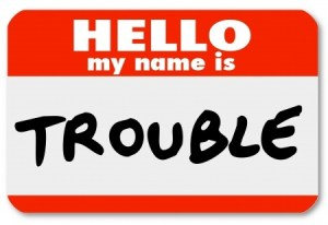 name is trouble 18912044_s