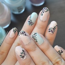 [Video Tutorial] Pastel Leopard Nail Art | My Dandelion Dreams