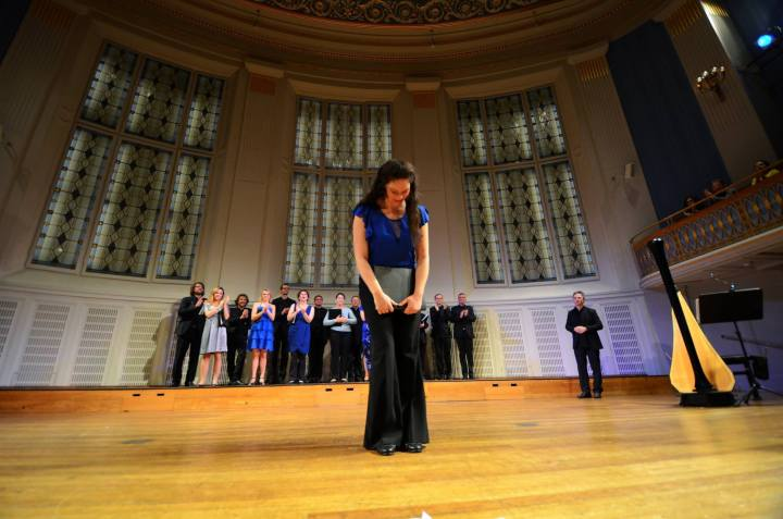 Patricia Moreno - the Jazz Singer at Konzerthaus Wien with Company of Music