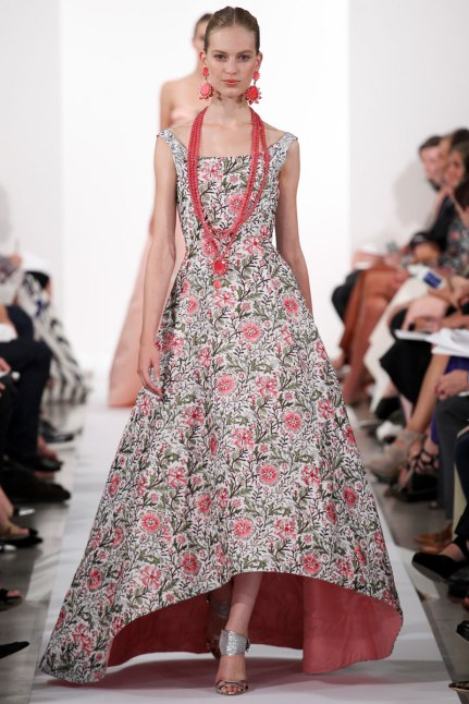 oscar de la renta new york fashion week spring/summer collection 2014