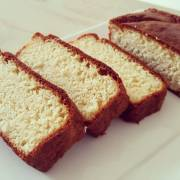 Koolhydraatarme vanille kokos cake