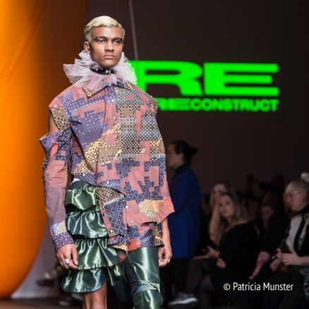 RE by Reconstruct runway show
