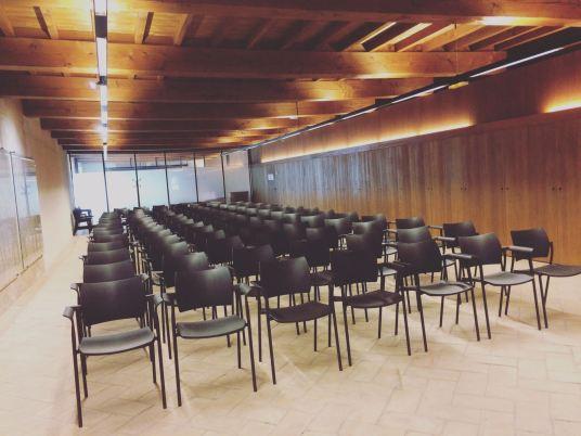 Sala del evento. Civivox Condestable. Foto Norma Grau