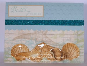 CTMH Seaside card