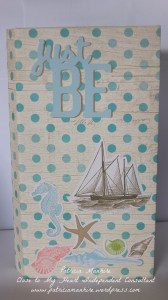 CTMH Seaside Mini Folio album