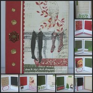 CTMH Yuletide Carol Pic Folio album