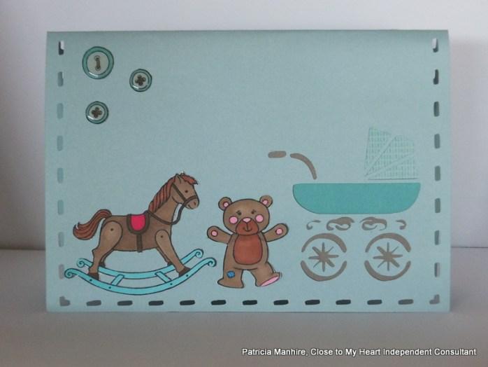#CTMH Artfully Sent Baby Card
