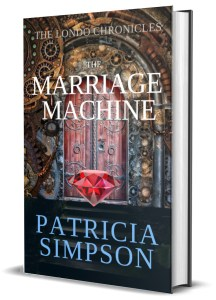 3D Cover of The Marriage Machine.