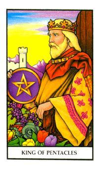 Rei de Ouros - Tarot