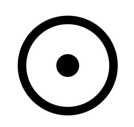 circumponto esoterismo magia ocultismo simbolo solar