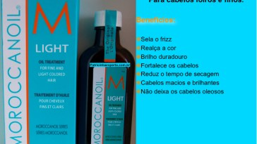 moroccanoil light oil theatment - Moroccanoil Light - Tenha cabelos de DIVA