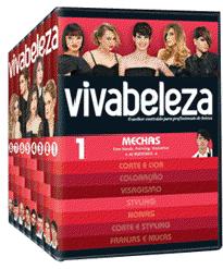 vivabeleza dvd - VIVABELEZA Lança coleção exclusiva de Dvd's para os profissionais cabeleireiros