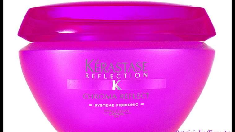 Masque Chroma Reflect - Eu uso: Kérastase Reflection Chroma Riche