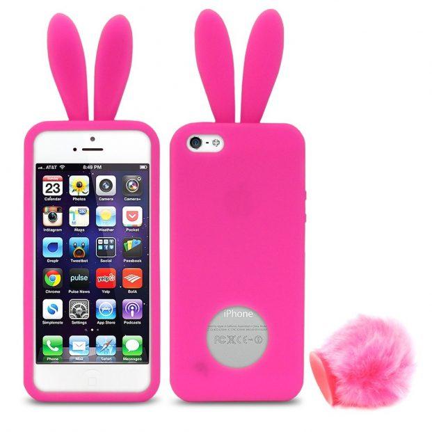 2 case capa rabito capinha coelho iphone 5 5s D NQ NP 14001 MLB4335832796 052013 F 621x621 - Capinhas para Iphone modelos [2018]