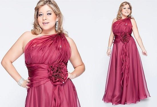 vestido de festa plus size3 001 - Moda GG: Vestido de Festa - Parte 2