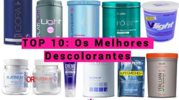 Os Melhores Descolorantes - TOP 10 - Os Melhores Descolorantes