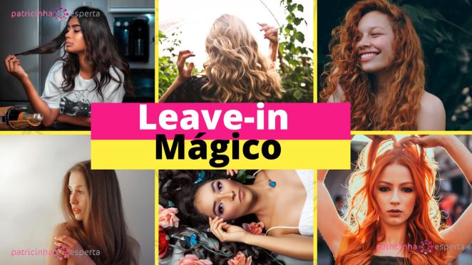 10 - Leave-in Mágico: Relaxamento Temporário com Efeito Extra Liso