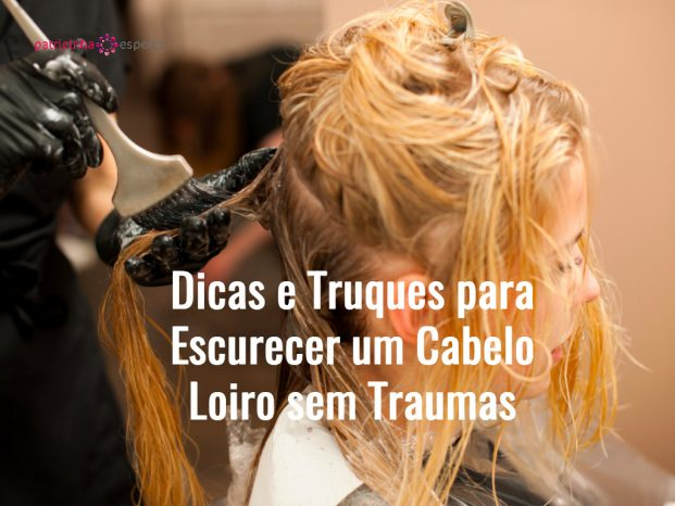 hair stylist at work hairdresser applying color on customer picture id636660174 621x466 - Dicas e Truques para Escurecer um Cabelo Loiro sem traumas