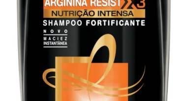 elseve arginina resist x3 nutric3a7c3a3o intensa shampoo - Shampoo Fortificante Arginina Resiste X3 Nutrição Intensa
