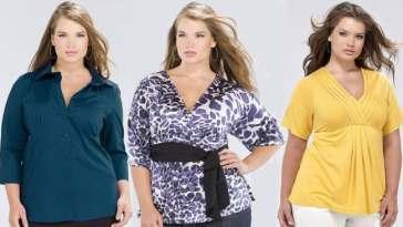 blusas para gordinhas 6 - Como Disfarçar Seios Grandes?