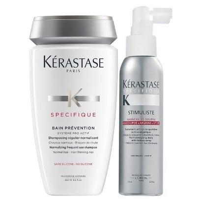 Kerastase Specifique Kit Antiqueda Shampoo 250ml e Stimuliste 125ml  - Como resolver a Queda de Cabelo Feminina?