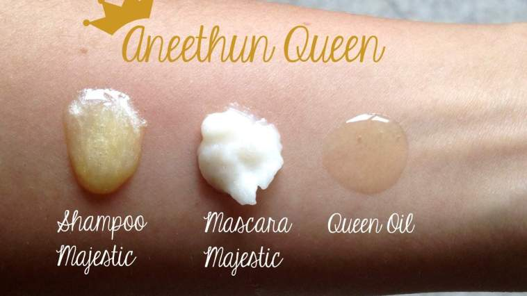 aneethun queen shampoo mascara oleo - Quer cabelos de Rainha? Conheça a linha completa Aneethun Queen