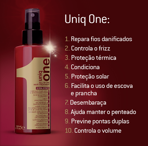 Uniq One: O Leave-in que Garante Vida Nova aos Seus Cabelos