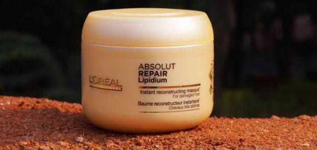 LOreal Professional Absolut Repair Lipidum Masque Conditioner Review Price Buy Online India - Máscaras Loreal - As Melhores