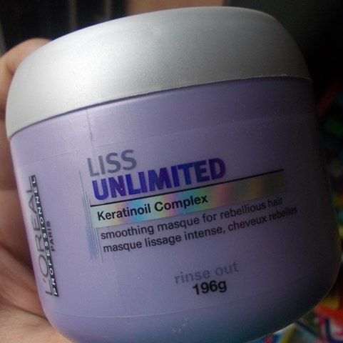 LOreal Professional Liss Unlimited Keratinoil Complex Smoothing Masque 3 - Máscaras Loreal - As Melhores