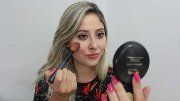 IMG 3249 - Consertar blush em pedaços - Passo a Passo