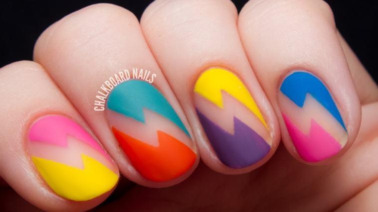 Nails art4 - Nail art veio pra ficar. É só usar a sua criatividade!