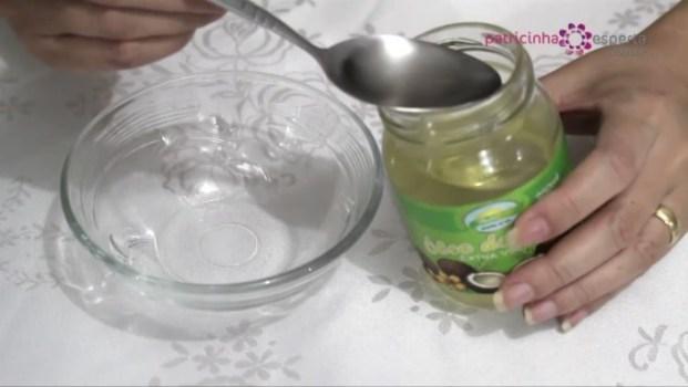 Óleo de coco hidratante