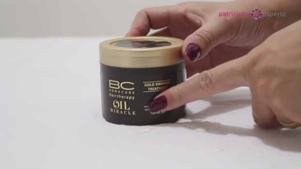 Bonacure Oil Miracle Gold Shimmer Máscara
