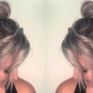 @ c.sabin .stylist - Coque Half-Bun- Como fazer?