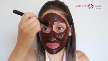 IMG 00021 - Máscara Caseira Facial de chocolate