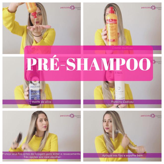 PRE SHAMPOO - 8 Cuidados Para Seus Cabelos