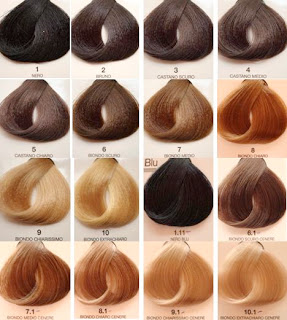 1F31FF 2 - Como entender a numeração de tinta de cabelo