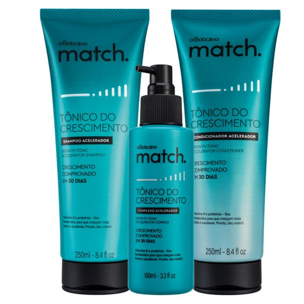 Combo Match 621x621 - Como Fazer o Cabelo Crescer Mais Rápido