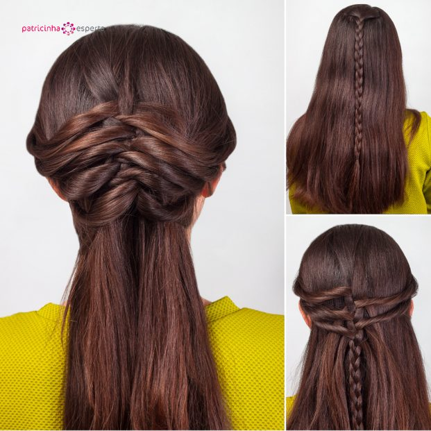 hairstyle for long hair tutorial picture id517133688 621x621 - Penteados Para Madrinhas De Casamento 2017