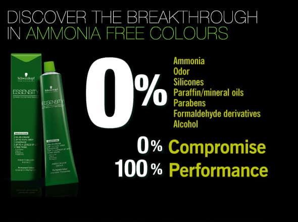 Schwarzkopf Essensity Permanent Hair Color100 Performance amonia free 18 - Tintura Antialérgica Para Cabelos - As Melhores [novo]