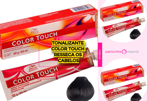 Tonalizante Color Touch Resseca os Cabelos - Tonalizante Color Touch Resseca os Cabelos?