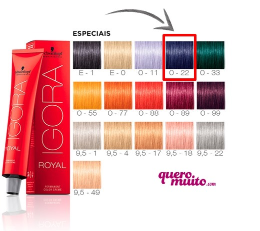 igora 022 qm - Mix de Tintura saiba como usar?