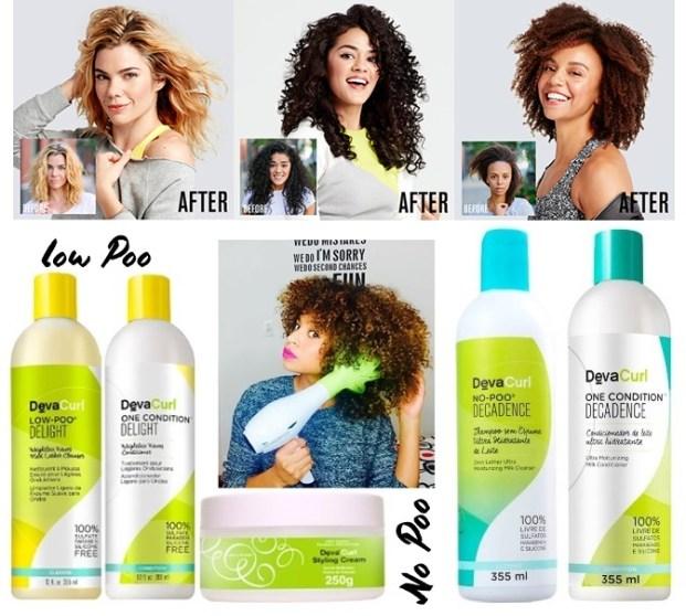 Deva Curl Decadence Duo Kit Shampoo No Poo 355ml e Condicionador One 355ml  621x558 - Deva Curl Decadence produtos