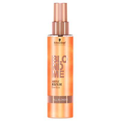 Schwarzkopf BlondMe Elixir de Brilho como usar