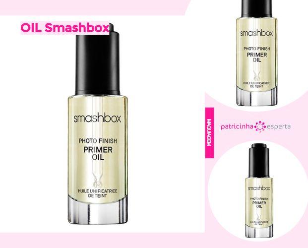 OIL Smashbox - Primer Smashbox Resenha: Como Funciona, Diferenças, Como Usar