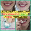 clareamento dental com bicarbonato1 - Clareamento dental com BICARBONATO e LIMÃO ⬅