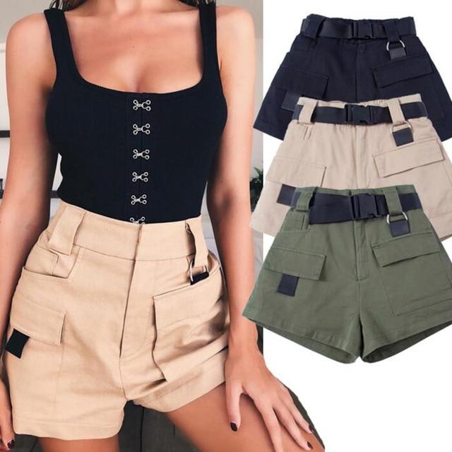 women military shorts - Shorts do Verão 2020: Tendências, Looks Para Copiar